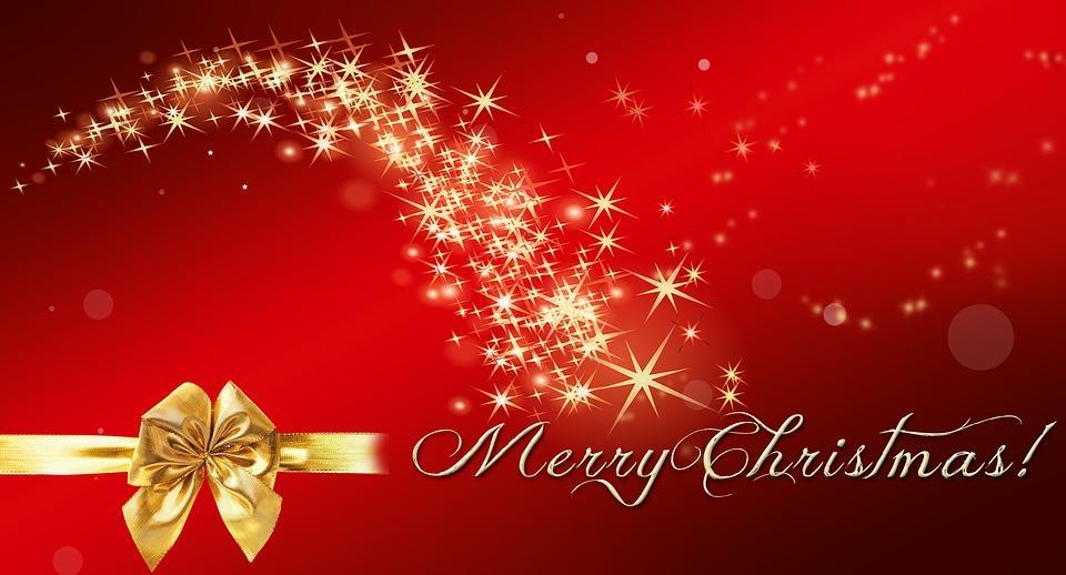 Fröhliche Weihnachten und einen guten Rutsch in's Jahr 2k19